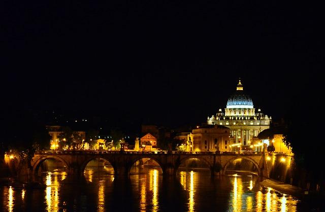 visitar roma en el puente de diciembre