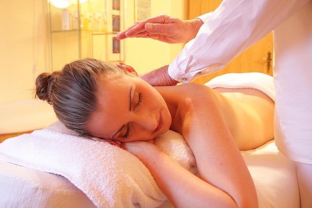 masaje en spa