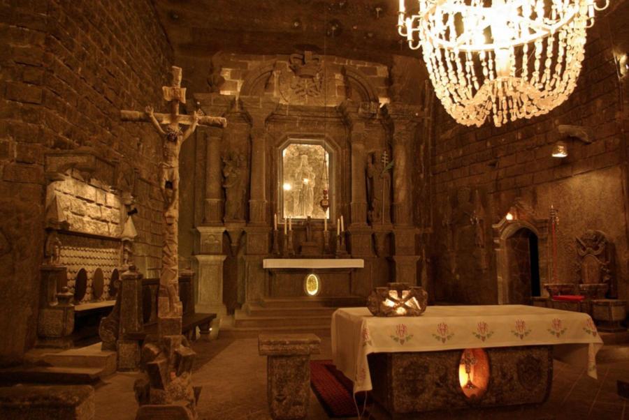 catedral subterranea de sal cracovia