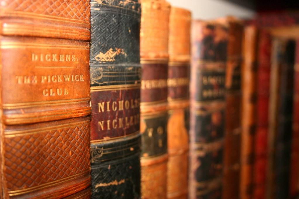 libros de dickens casas de famosos