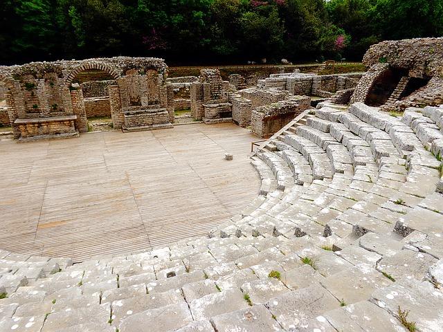 teatro griego en albania
