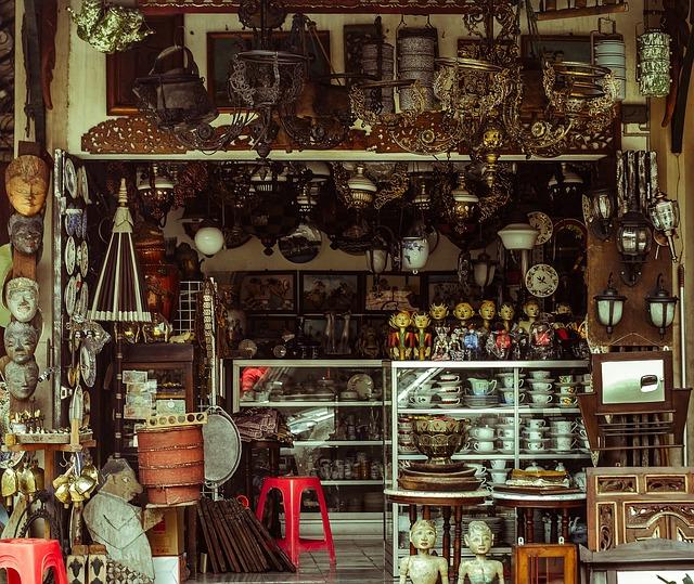 bazar en albania