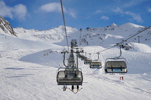 estaciones de esqui nieve