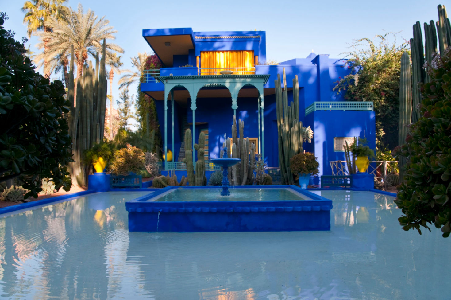 jardin majorelle marruecos