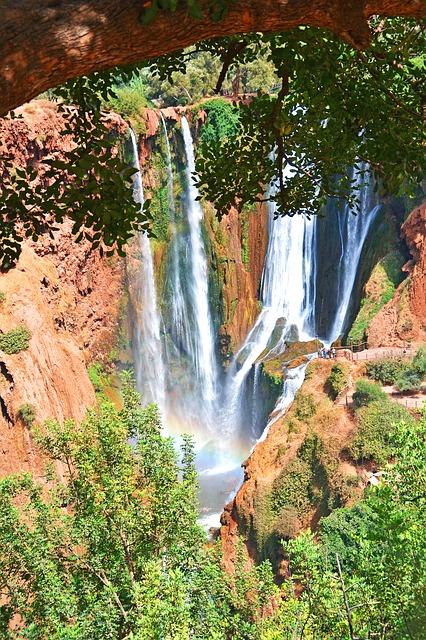 cascadas marruecos