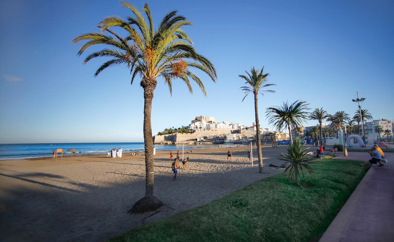 playas en peñiscola