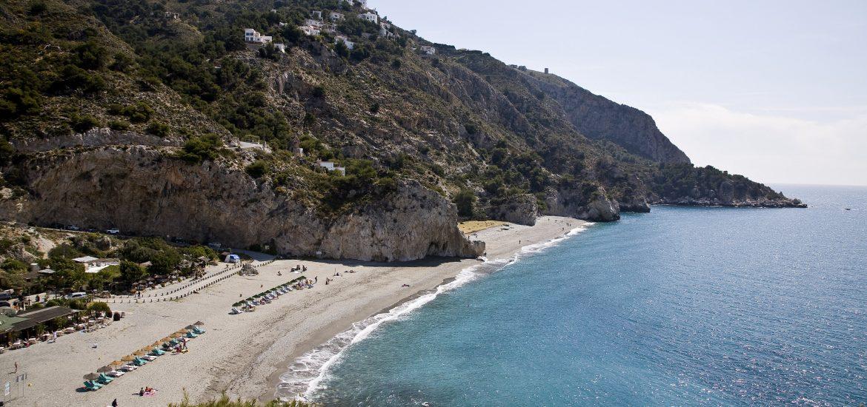 Playas de Cantarriján, en La Herradura-Almuñécar