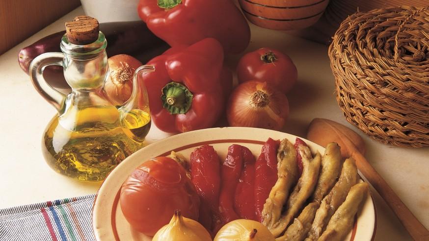 Gastronomía con productos de proximidad.