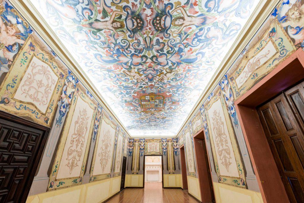 Interior del Palacio Marquesal de los Milà y Aragó de Albaida (Valencia