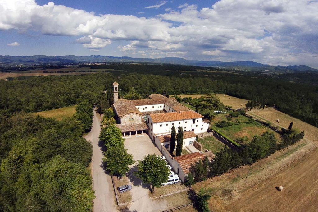 Conventeo San Piero Bosco en Scarperia San Piero, Italia.