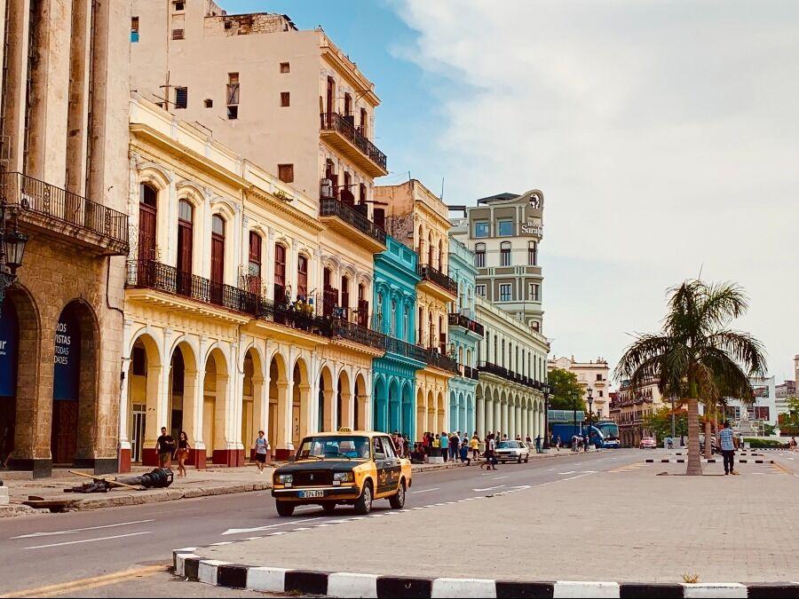Paseo Martí en la Habana