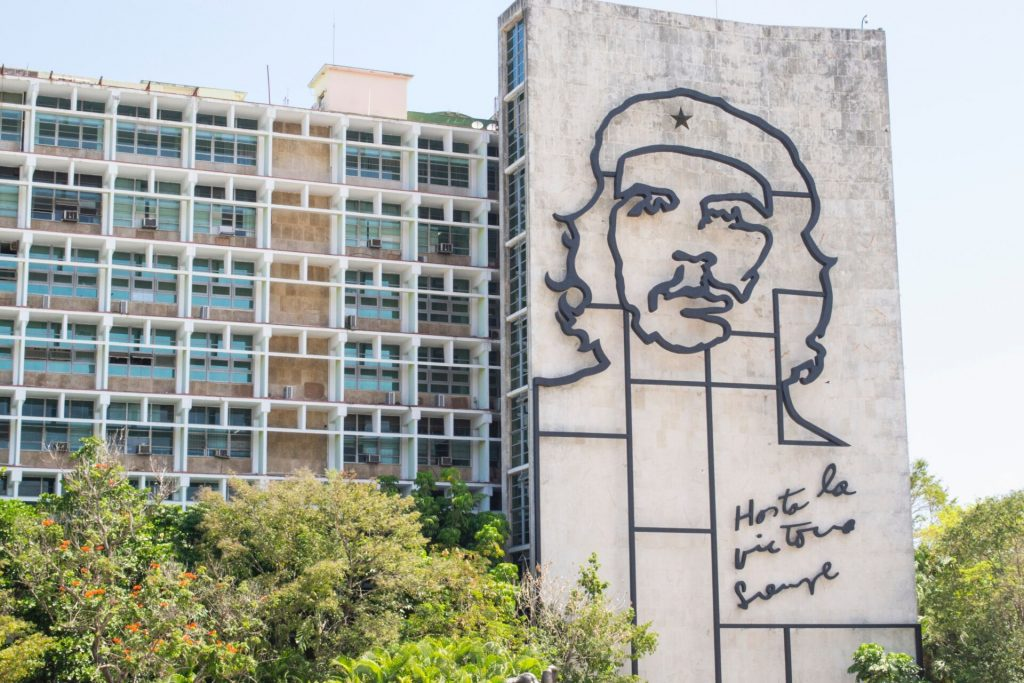 Mural de Che Guevara en la Habana