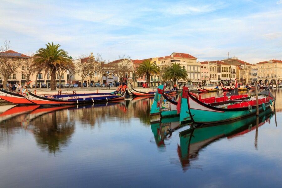 Viajar a Aveiro, Región Central de Portugal